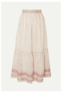 Vanessa Bruno - Luciole Paisley-print Cotton Maxi Skirt - Red
