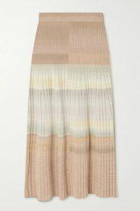 FRAME - Crochet-trimmed Ramie Shirt - White