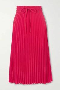REDValentino - Pleated Crepe Midi Skirt - IT44
