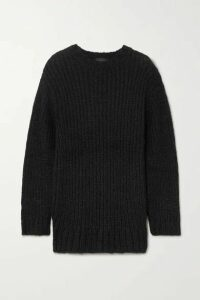 The Range - Fog Ribbed-knit Sweater - Black
