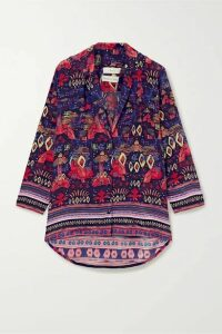 Chufy - Nazca Printed Twill Shirt - Purple