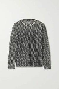 Akris - Cashmere-blend Jacquard Sweater - Black