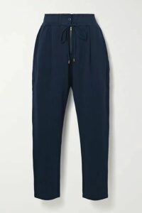 APIECE APART - Josephine Cotton-jersey Track Pants - Navy
