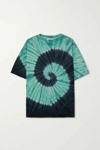 Ninety Percent - + Net Sustain Tie-dyed Organic Cotton-jersey T-shirt - Blue