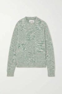 Jil Sander - Mélange Cashmere Sweater - Green