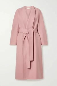 The Row - Celete Belted Cashmere Coat - Antique rose