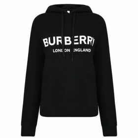Burberry Logo Hooded Sweatshirt