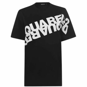 DSquared2 Mirror Logo T Shirt