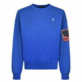 Polo Ralph Lauren Flag Sleeve Sweatshirt