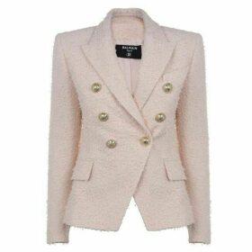 Balmain 6 Button Tweed Blazer