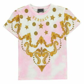 Versace Jewel Logo T Shirt