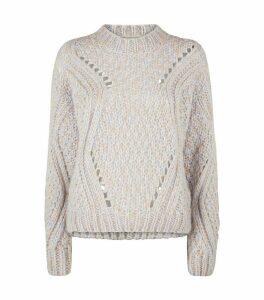 Mohair-Blend Alex Sweater