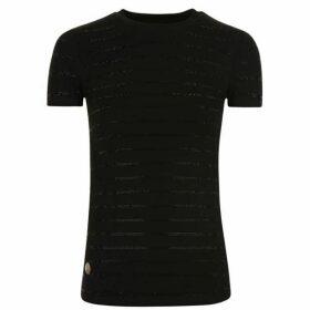 Philipp Plein Strass T Shirt