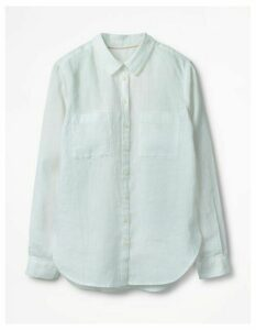 The Linen Shirt White Women Boden, White