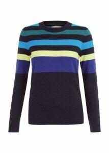 Sarah Sweater Navy Multi