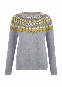 Madeline Sweater Grey Multi