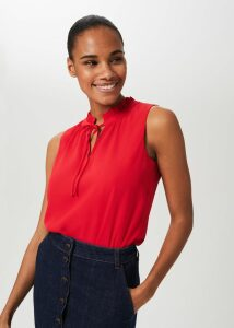 Joy Check Wool Skirt Camel Black
