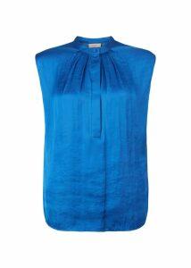 Lillie Blouse Sapphire Blue
