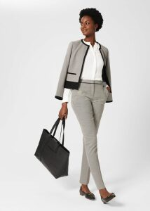Vic Linen Shorts Mango Orange