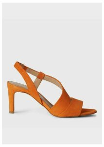 Leah Sandal Sunset Orange
