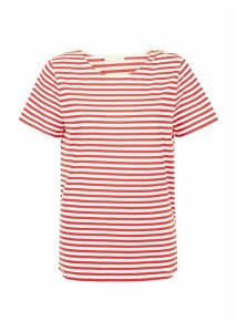 Camille Tee Ivory Red