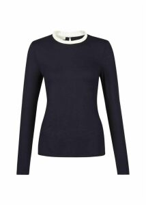 Molly Pie Crust Top Navy