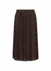 Rosalind Skirt Navy Multi