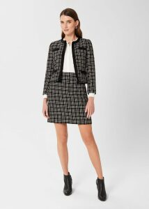 Hester Shirt Navy Red
