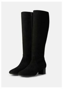 Sadie Knee Boot Black