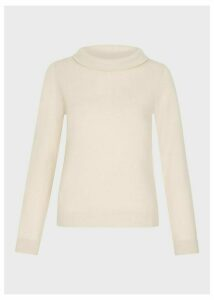 Audrey Wool Cashmere Sweater Oatmeal Marl