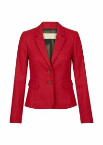 Hackness Wool Jacket Berry