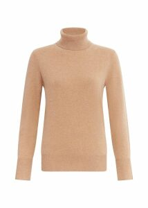 Adela Cashmere Sweater Camel