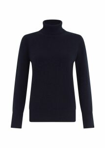 Adela Cashmere Sweater Navy