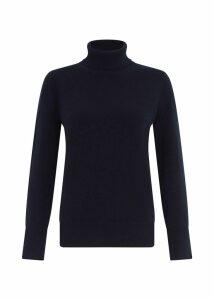 Adela Cashmere Sweater Navy