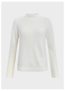 Maeve Merino Wool Blend Sweater Ivory