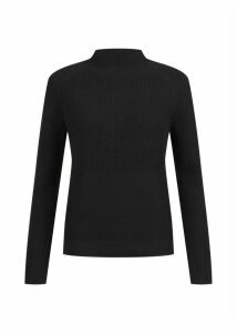 Maeve Merino Wool Blend Sweater Black
