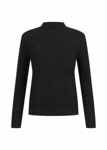 Maeve Merino Wool Blend Sweater Black