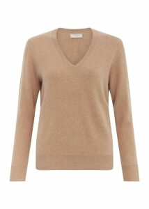 Bella Cashmere Sweater Camel