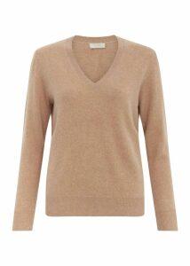 Bella Cashmere Sweater Camel