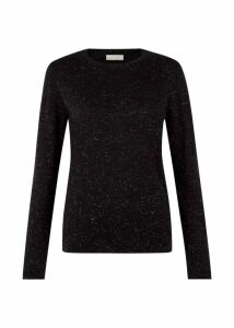 Emi Sparkle Sweater Black Silver
