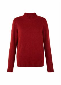 Freda Merino Wool Blend Sweater Berry