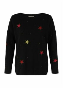 Gabrielle Sweater Black Multi