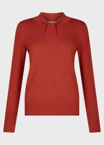 Kelsey Sweater Rust Orange