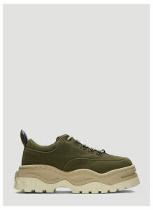 Eytys Angel Canvas Sneakers in Green size EU - 40