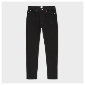 Women's Black Skinny-Fit Stretch-Cotton Jeans