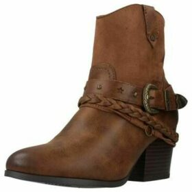 MTNG  58677M  women's Low Ankle Boots in Brown