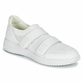 Geox  D NOVAE  women's Shoes (Trainers) in White