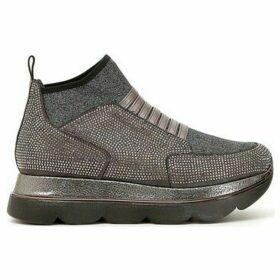 Café Noir  DB969  women's Slip-ons (Shoes) in Grey