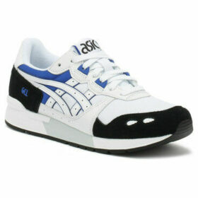 Asics  Gel-Lyte White / Blue Trainers  women's Running Trainers in White