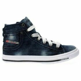 Diesel  BY0053 P1234 MAGNETE  women's Shoes (High-top Trainers) in Blue